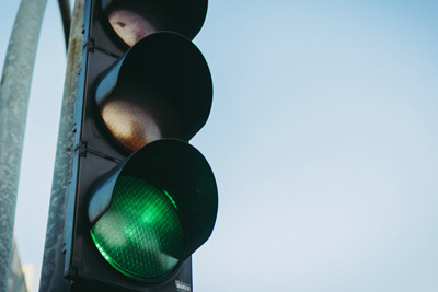 photo of a traffic light